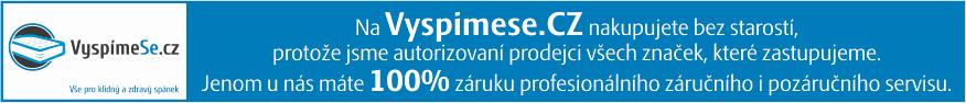autorizovany prodejce, vyspimese.cz, prodejna matraci, madrace, matrace